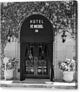 Hotel St Michel Canvas Print