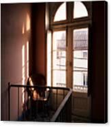 Hotel Window Canvas Print