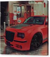 Hotred 300c Canvas Print