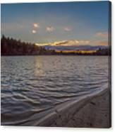 Houghton's Pond Sunset Canvas Print