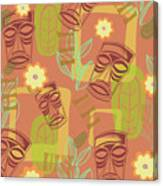 Hour At The Tiki Room Canvas Print