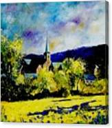 Hour Village Belgium Canvas Print
