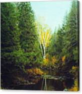 Hourglass Light Canvas Print