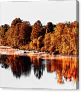 Housatonic River Mist Canvas Print