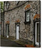 House And Street In Kilkenny Canvas Print