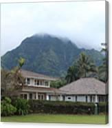 House At Hanalei Bay - Kauai - Hawaii Canvas Print