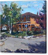 House At Goldmar Dr Mississauga On Canvas Print