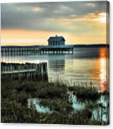 House At The End Of The Pier II Canvas Print