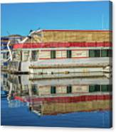 House Boats  Canvas Print
