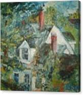 House In Gorham Canvas Print