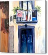 House In Lisbon Canvas Print