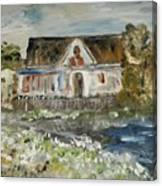House In Mendocino Canvas Print