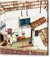 House In Santiago De La Ribera Canvas Print