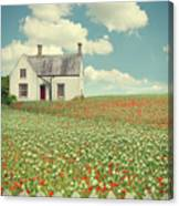 House In The Countryside Canvas Print