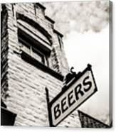 House Of Beer Canvas Print