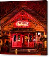 House Of Blues Canvas Print