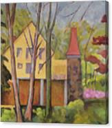 House Of Clara Barton Canvas Print