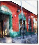 House Of El Hatillo Canvas Print
