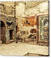 House Of Neptune Canvas Print