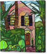 House Of Pink Canvas Print
