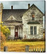 House On Elm Street Canvas Print