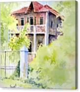 House On Jones Street Canvas Print