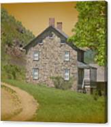 Housebythemountain Canvas Print