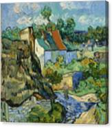 Houses In Auvers Canvas Print