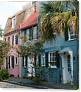 Houses In Charleston Sc Canvas Print