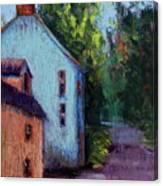 Houses In  Ireland Canvas Print