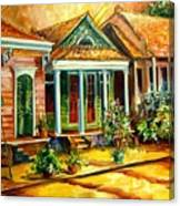 Houses In The Marigny Canvas Print