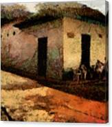 Houses Of Choroni Canvas Print