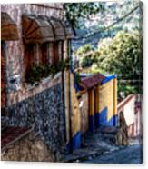 Houses Of Hatillo Canvas Print