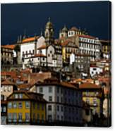 Houses Of The Slope Canvas Print