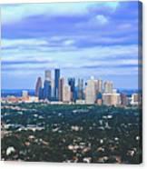 Houston 1980s Canvas Print