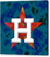 Houston Astros Logo Canvas Print