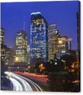 Houston City Life Canvas Print