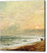 Hove Beach Canvas Print