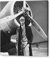Howard Hughes, Us Aviation Pioneer Canvas Print