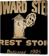 Howard Stern Rest Stop Canvas Print