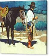 Howdy Ole Friend Canvas Print