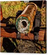 Howitzer Battle Of Honey Springs Canvas Print