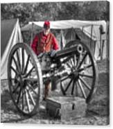 Howitzer Battle Of Honey Springs V5 Canvas Print