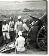 Howitzer Gun Turke World War Canvas Print