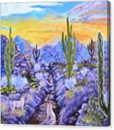 Howling Good Evening Canvas Print
