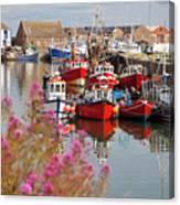 Howth Harbour Canvas Print