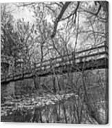 Hoyt Park Pedestrian Bridge Canvas Print