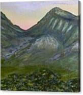 Huachuca Moutians Canvas Print