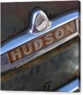 Hudson Car Emblem Canvas Print