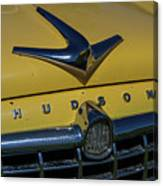 Hudson Hood Ornament And Logo Canvas Print
